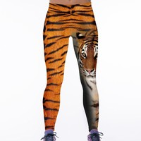 Hot Sale Print Strong Character Stretch Yoga Gym Pants [6049064257]
