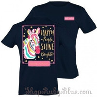 """Simply Southern """"Happy People Shine Brighter"""" short sleeve t-shirt"""