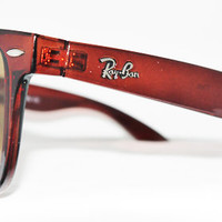 Rayban Wayfarer RB2140 Sunglasses Brown Polished Ray ban from Sunglass Mania