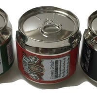 Aluminum Herb Grinder 3 Pieces (beer can)