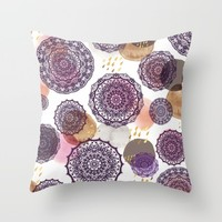 Fall Love Mandalas Comforters by Nika