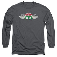 FRIENDS/CENTRAL PERK LOGO-L/S ADULT 18/1-CHARCOAL