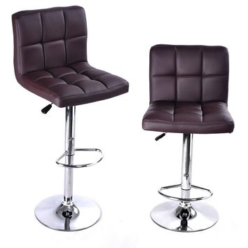 2 PC Swivel Office Furniture Desk Chairs