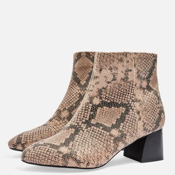 **WIDE FIT BABE Ankle Boots | Topshop