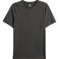 Crew-neck T-shirt Slim fit - from H&M