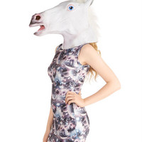 Mythical Feature Unicorn Mask