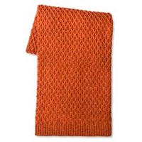 Throw Blanket Marled Sweater Knit - Threshold : Target