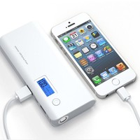 USB External Power Bank Portable LCD Charger