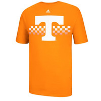 Tennessee Volunteers adidas ''Checkered Power'' Go To T-shirt - Tennessee Orange
