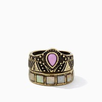 Artisan Relics Ring Set | Fashion Jewelry | charming charlie