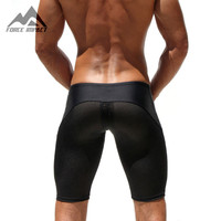 Athletic Men's Sport Shorts Casual Leisure Summer Fitness Gym Men Workout Skinny Boxing Running Yoga Fight Shorts for man AQ11