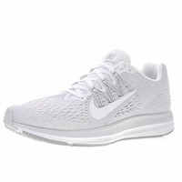 """Nike Air Zoom WINFLO 5 """"White&Grey"""" Running Shoes AA7406-100"""