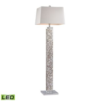 Mother Of Pearl LED Floor Lamp Mother Of Pearl Shell