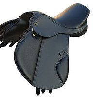English Event Leather Saddle - Cow Soft Leather seat knee   All Sizes in saddles
