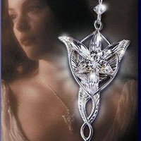 Arwen Evenstar Necklace LOTR Lord of the Rings by jewelpradise