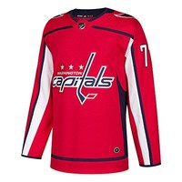 TJ Oshie Washington Capitals Adidas NHL Men's Authentic Red Hockey Jersey