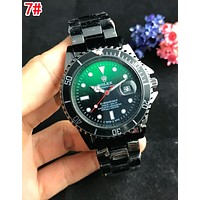 Rolex Popular Women Men Personality Quartz Watches Wrist Watch 7#