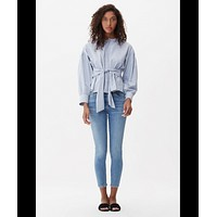 Rocket Crop High Rise Skinny, Serenity