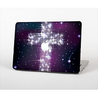 """The Glowing Starry Cross Skin Set for the Apple MacBook Pro 13"""""""