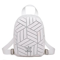 ADIDAS fashion hot seller women's patchwork tattoo gradient shopping backpack #4