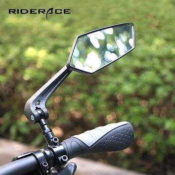 Bicycle Rear View Mirror Bike Cycling Clear Wide Range Back Sight Rearview Reflector Adjustable Handlebar Left Right Mirrors