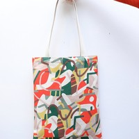 Book Tote - Rhythm Color