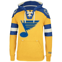 St. Louis Blues CCM Big & Tall Pullover Hoodie - Gold