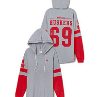 University of Nebraska Varisty Hoodie - PINK - Victoria's Secret