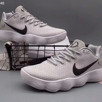 Nike HYPERDUNK Fashion Trending High Tops Running Sports Shoes Grey G-WMGCD