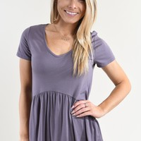 Be My Baby Top ~ Lavender