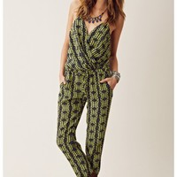 Rory Beca Silk Wrap Jumpsuit