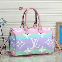 Onewel LV Bag Louis Vuitton Big Monogram Gradient Print Handbag Crossbody bag Pink