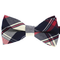 Tok Tok Designs Pre-Tied Bow Tie for Men & Teenagers (B320, 100% Cotton)