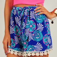 Piece Of The Action Shorts: Multi