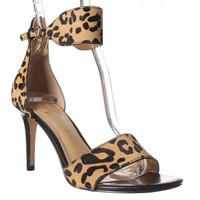 Ivanka Trump Gelanal Ankle-Strap Sandal - Brown Multi