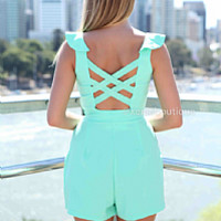 WICKED PLAYSUIT , DRESSES, TOPS, BOTTOMS, JACKETS & JUMPERS, ACCESSORIES, 50% OFF SALE, PRE ORDER, NEW ARRIVALS, PLAYSUIT, COLOUR, GIFT VOUCHER,,Green Australia, Queensland, Brisbane