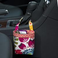 Car Cellphone Caddy ~ Pink Grapefruit ~ Orange XOXO Band ~ Center Console Handle