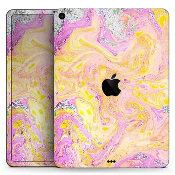 "Cotton Candy Oil Mix V3 - Full Body Skin Decal for the Apple iPad Pro 12.9"", 11"", 10.5"", 9.7"", Air or Mini (All Models Available)"