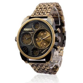 Awesome Trendy Gift Good Price Great Deal New Arrival Designer's Stylish Quartz Stainless Steel Watch [6542563459]