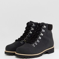ASOS ADRIANA Hiker Ankle Boots at asos.com