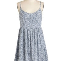 ModCloth Boho Short Length Spaghetti Straps Empire Thrive in the Afternoon Dress