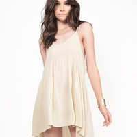 Sheer Cami Babydoll Dress