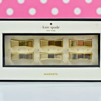 kate spade new york: magnet set - bow lovely