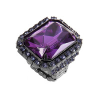 Purple Diamond Stretch Ring not available