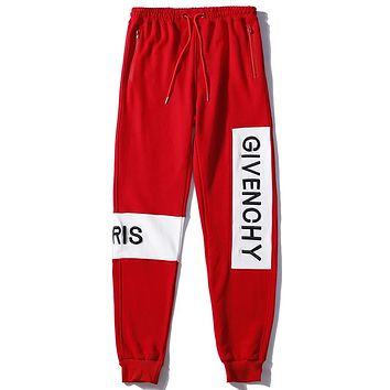 Givenchy Women or Men Fashion Casual Loose Pants Trousers