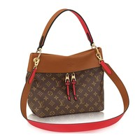 Louis Vuitton Monogram Canvas Tuileries Besace Shoulder Cross Handbag Caramel Article:M43157