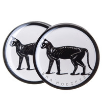 Cat Skeleton BMA Plugs (6mm-60mm)