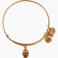 Women's Alex and Ani 'Cupcake' Expandable Wire Bangle
