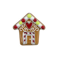 Origami Owl Custom Jewelry - Gingerbread House Charm