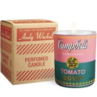 Andy Warhol Campbell Soup Candle